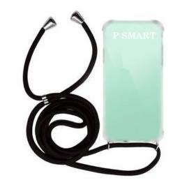 Funda de cuero turquesa para Samsung Galaxy Core